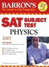 Barron's SAT Subject Test Physics by Gewirtz, Herman