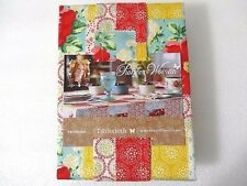 Pioneer Woman Patchwork Tablecloth 52 x 70 Fabric Floral Kitchen Dining Table