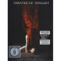"THEATRE OF TRAGEDY ""LAST CURTAIN CALL"" DVD+CD NEW!"