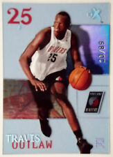 2003-04 Fleer E-X TRAVIS OUTLAW Essential Credentials Now Rookie RC SP #/89