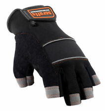 Scruffs Fingerless Max Performance Gloves Twin Pack Mechanic Safety Work Glove