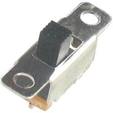 10 Miniatur Schiebeschalter silber 1x EIN/AUS oder UM schaltend 60V0,1A 20x5,8mm