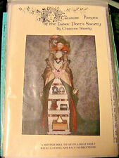 Creative Keeper Jointed Doll Shelf~Christine Shively~2000 cloth art doll pattern