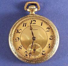 "Antique Tavannes ""Tavanco"" Swiss Pocket Watch 45 mm Diameter S/N13572150 Ca.1915"