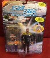 Star Trek NEXT GENERATION Lt COMMANDER LaFORGE Action Figure Vintage - NEW V2