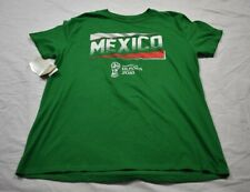 FIFA World Cup Russia 2018 MexicoSlanted Tee Womens Large Green New
