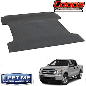 New Heavy Duty Rubber Bed Mat 2004-2014 Ford F-150 5.5' Bed - Lifetime Warranty