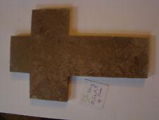 23/ grande  croix sans Christ en marbre old marble crucifix  FRENCH