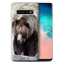 Animaux sauvages Coque Gel pour Samsung Galaxy S10/Ours