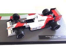 McLaren MP 4/4 Ayrton Senna 1988 Fórmula 1 F1 1/43 IXO Salvat Diecast