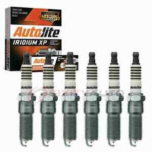 6 pc Autolite Iridium XP Spark Plugs for 2007-2009 Pontiac G6 3.6L V6 ii