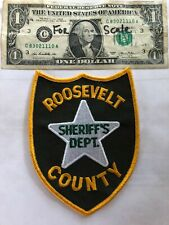 Roosevelt Montana Police Patch (Sheriff's Dept.) in great shape