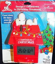 Hallmrk Peanuts Snoopys Digital Countdown To Christmas Advent Calendar Ornament