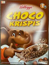 NEW KELLOGGS CHOCO KRISPIS CEREAL 23.3 OZ BOX CHOCOLATE FLAVORED PUFFED RICE