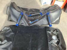 Ultimate Sandbag Core Fitness Bag with water bladder adjustable 32×13 blue
