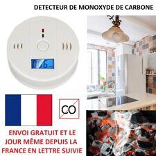 DÉTECTEUR MONOXYDE DE CARBONE CO AVEC ALARME CO2 LCD PPM SÉCURITÉ MONOXIDE CO2