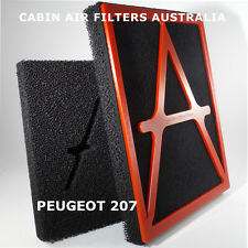 CABIN AIR FILTER suits PEUGEOT 207 2007-2017 BREATHE CLEANEST AIR POSSIBLE