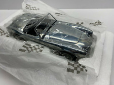 Exoto Cobra 1:18 Scale 1962 Shelby 260 The First LOGO in Unpainted Aluminum New!