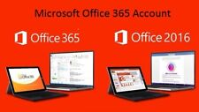 Microsoft Office 365 2016 for Windows and Mac Genuine License Account