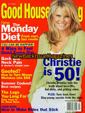 Good Housekeeping 7/04,Christie Brinkley,Molly Sims,July 2004,NEW