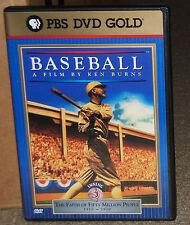 Ken Burns Baseball Inning 3 1910-1920 The Faith of 50 Million People DVD
