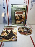 Tom Clancy's Rainbow Six: Vegas 2 PLATINUM HITS MICROSOFT Xbox 360 GAME COMPLETE