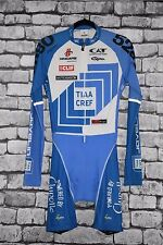 Hincapie TIAA CREF Team Cycling Skinsuit Long Sleeve Size Medium