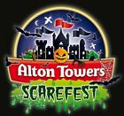 2 x Alton Tower E-Tickets - Sunday 24th October - Trusted Seller - SCAREFEST!!!