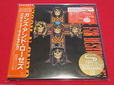 GUNS N ROSES - APPETITE FOR DESTRUCTION - JAPAN MINI LP SHM CD