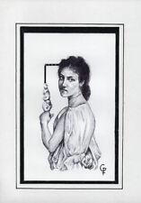 CAPRICHOS DEL FUEGO Original Art Drawing Cuba Cuban FERNANDO GODERICH FABARS 19