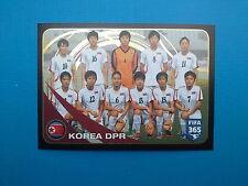 PANINI FIFA 365 2016-17 2017 n.294 Team Korea DPR FIFA/Coca Cola Women's World