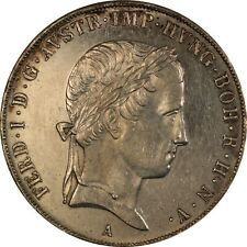 Austria 1845-A Ferdinand I Taler, KN#2240, Proof like