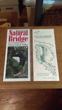 Virginia's Natural Bridge Brochures