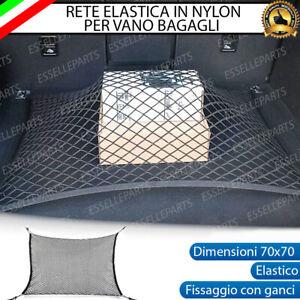 RETE ELASTICA PER BAGAGLIAIO VANO BAGAGLI 70X70 cm CON GANCI PER MAZDA CX-5 II