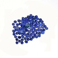 3MM AAA Natural Lapis Lazuli Round Cabochon Loose Gemstone Wholesale Lot