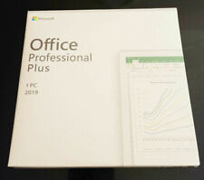 Microsoft Office 2019 Professional Plus Retail Dvd for Windows 10