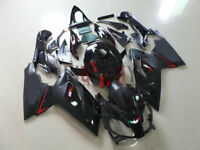 Fit 2006-2011 Aprilia RS125 Fairing Bodywork ABS Plastic Kit Set  Black color