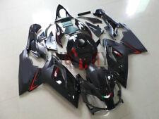 Fit 2006-2011 Aprilia RS125 Fairing Bodywork ABS Plastic Kit Set  Black color