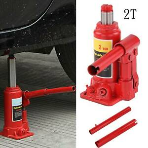 2 Ton Heavy Duty Truck Caravan Car Van Boat Hydraulic Lifting Ram Bottle Jack