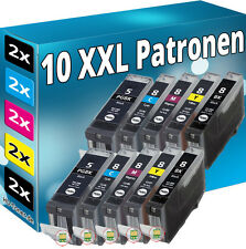 TINTE PATRONEN+CHIP für CANON MP500 MP510 MP520 MP530 MP610 MP810 MP830 IP5300