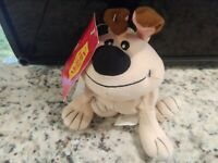 Disney Store Mulan Little Brother Plush Stuffed Toy NWT Kids Vintage New Dogs