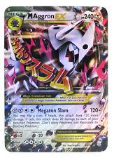 Pokémon Individual Card Mega EX Aggron 94/160 with Card Sleeve and Box Case