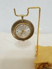 Vintage 60's Bulova Mechanical Pendant Watch Works