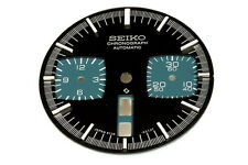 Dial for Seiko 6138-0040 automatic black bull-head chronograph