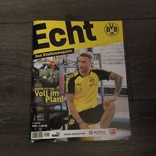 BVB @ BORUSSIA DORTMUND@Stadionmagazin ECHT@Heft Nr. 131@BVB - Hertha@Marco Reus