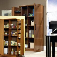 Kitchen Pantry Cabinet Office Storage Furniture Shelf Organizer Racks Cupboard