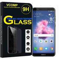 """Lot/ Pack Film Verre Trempe Protecteur pour Huawei P smart 5.65""""/ Enjoy 7S"""