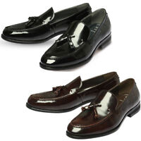 Mooda Mens Leather Loafer Shoes Classic Formal Lace up Dress Shoes UniqueBu