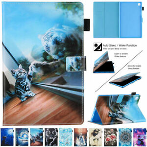 """Smart Patterns Case Stand Cover For Samsung Galaxy Tab A7 10.4"""" 2020 T500 T505"""