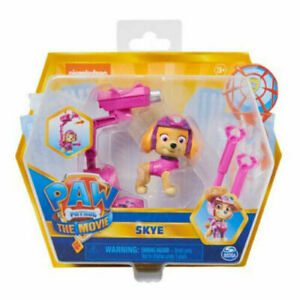 Paw Patrol The Movie Hero Pups Skye Cockapoo Helicopter Flying Dog 2021 READ!!